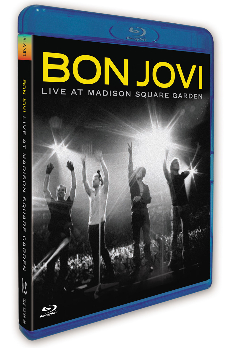 Bon Jovi Live Dvd Live At Madison Square Garden Echte Leute