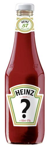 HEINZ Ketchup-Flasche