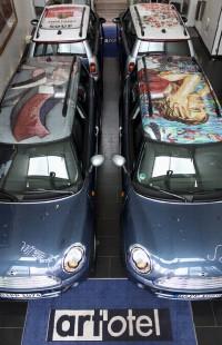 art'otels fahren die kultigste Galerie der Welt