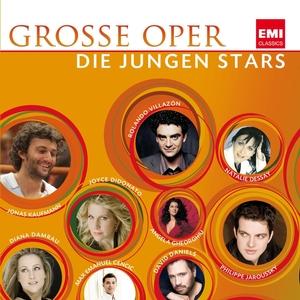 Grosse Oper - Die jungen Stars CD Cover