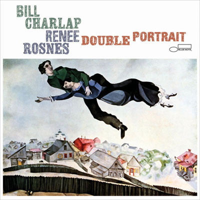 Bill Charlap & Renee Rosnes Double Portrait CD Cover