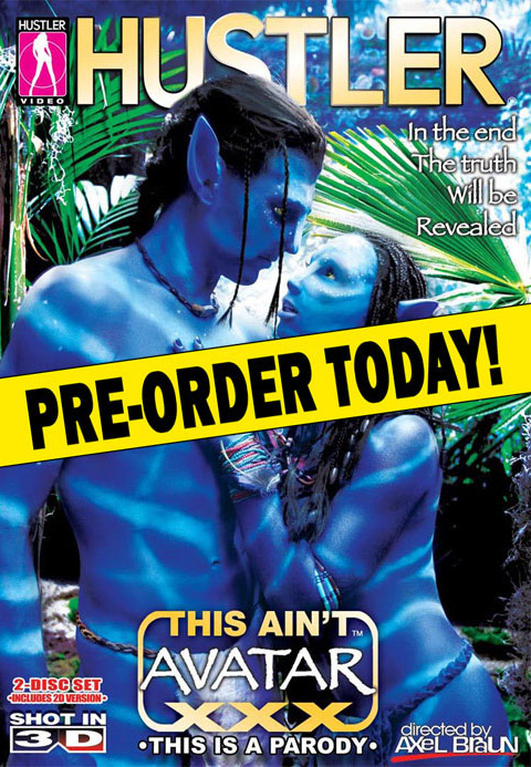 Hustler Avatar DVD Cover
