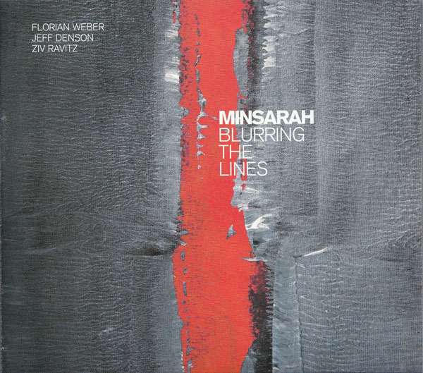 "MINSARAH – ""Blurring the Lines"" CD Cover"