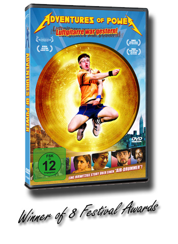 Adventures of Power DVD Cover