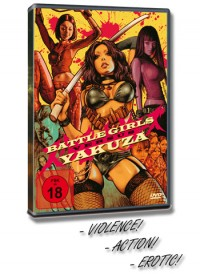 Battle Girls Yakuza DVD Cover