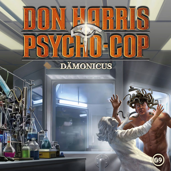 DON HARRIS – PSYCHO COP 09: Dämonicus CD Cover Booklet Artworks