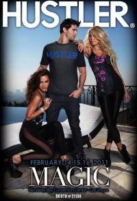 Hustler Magic-Fashion 2011 Flyer Plakat