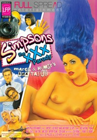 Simpsons: The XXX Parody DVD Cover