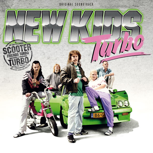 New Kids Turbo Soundtrack CD Cover