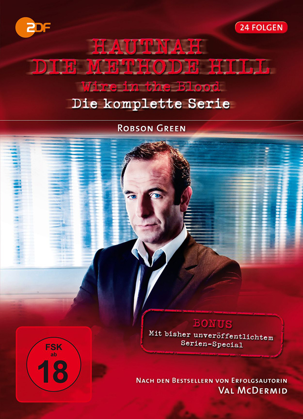 "DVD-Komplettbox der ZDF-Krimiserie ""Hautnah - Die Methode Hill"" DVD Cover"