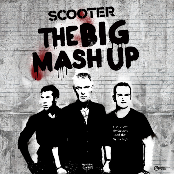 Scooter The Big Mash Up CD Cover