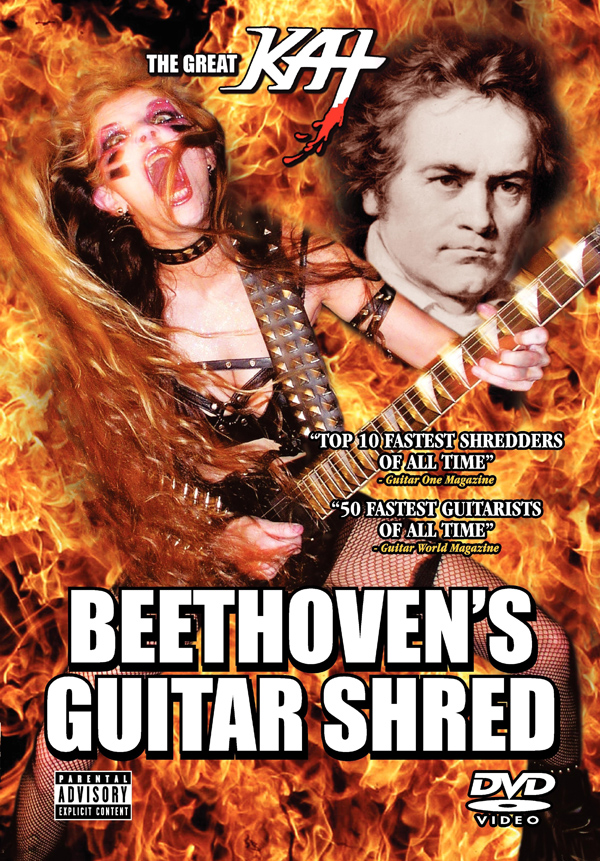 "THE GREAT KAT ""Beethovens Guitar Shred"""