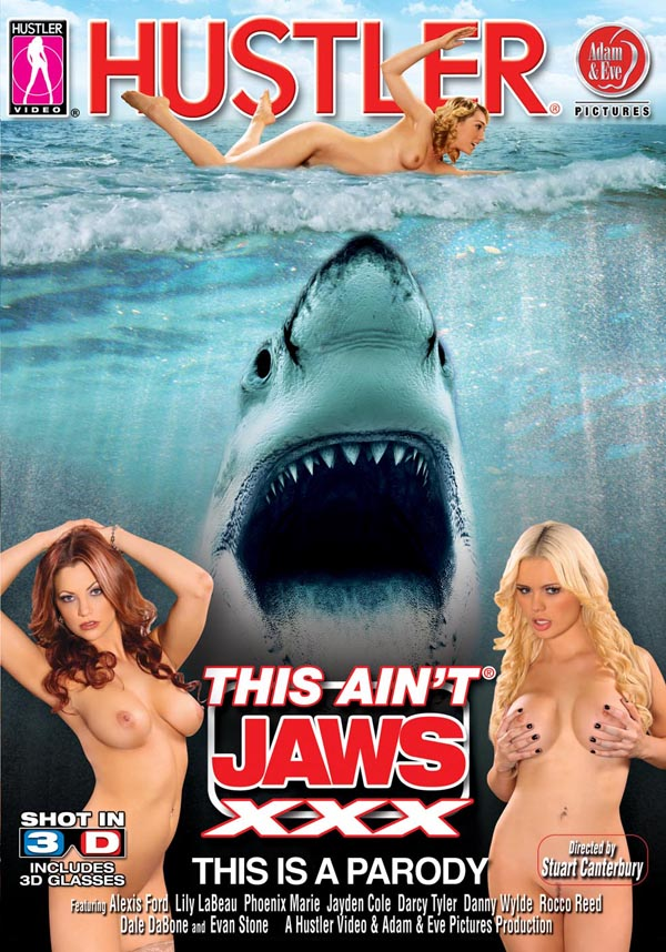 """This Ain´t Jaws XXX 3D"" DVD Cover"
