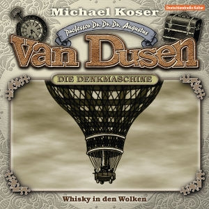 Van Dusen Die Denkmaschine CD Cover Whisky in den Wolken