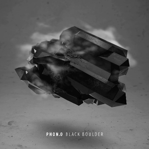 Phon.o - Black Boulder CD Cover Album