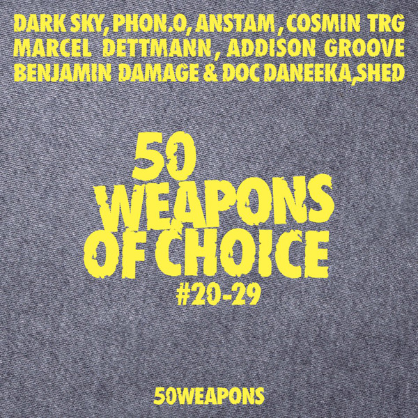 50 WEAPONS OF CHOICE CD Cover