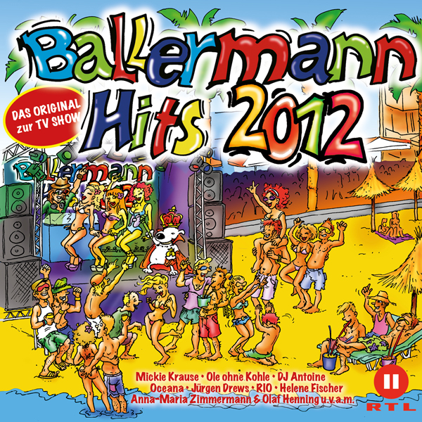 """Ballermann Hits 2012"" CD Cover"