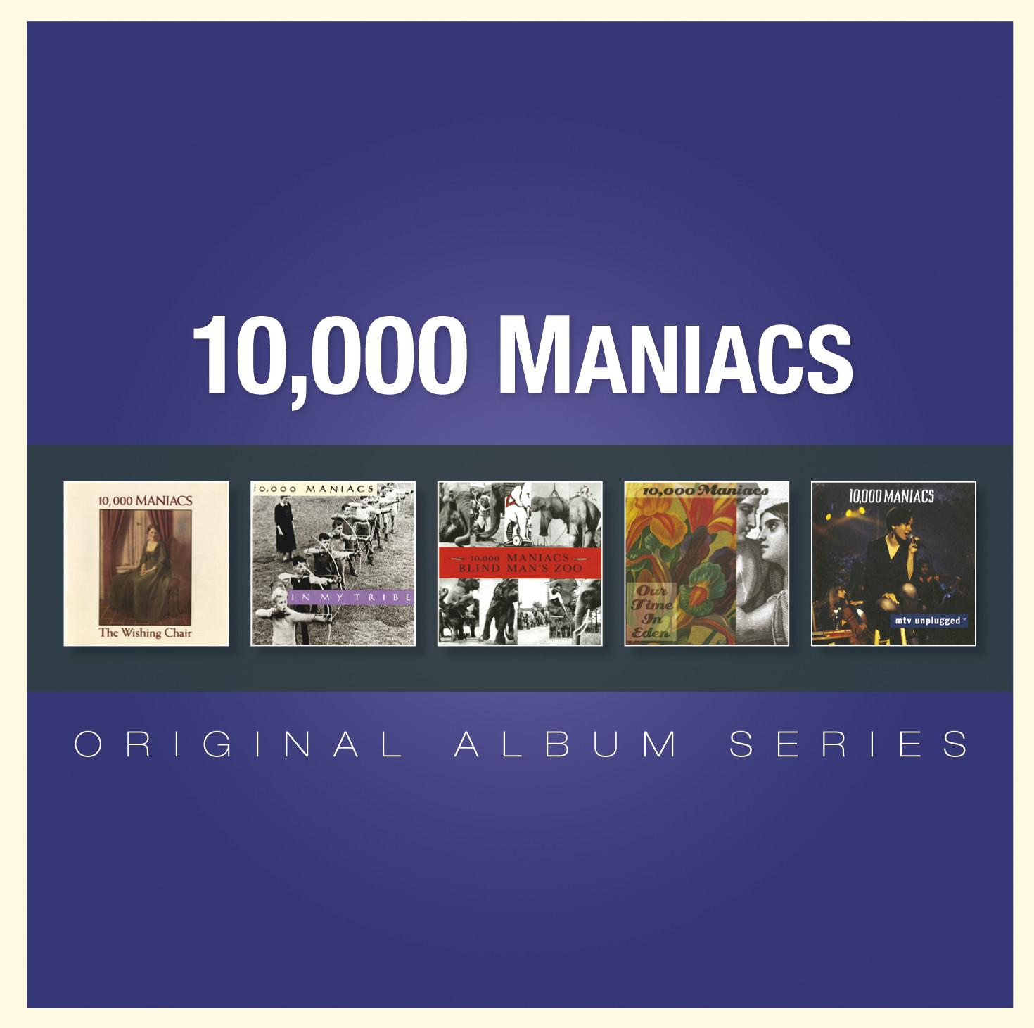"""10,000 Maniacs - """"Original Album Series"""""""