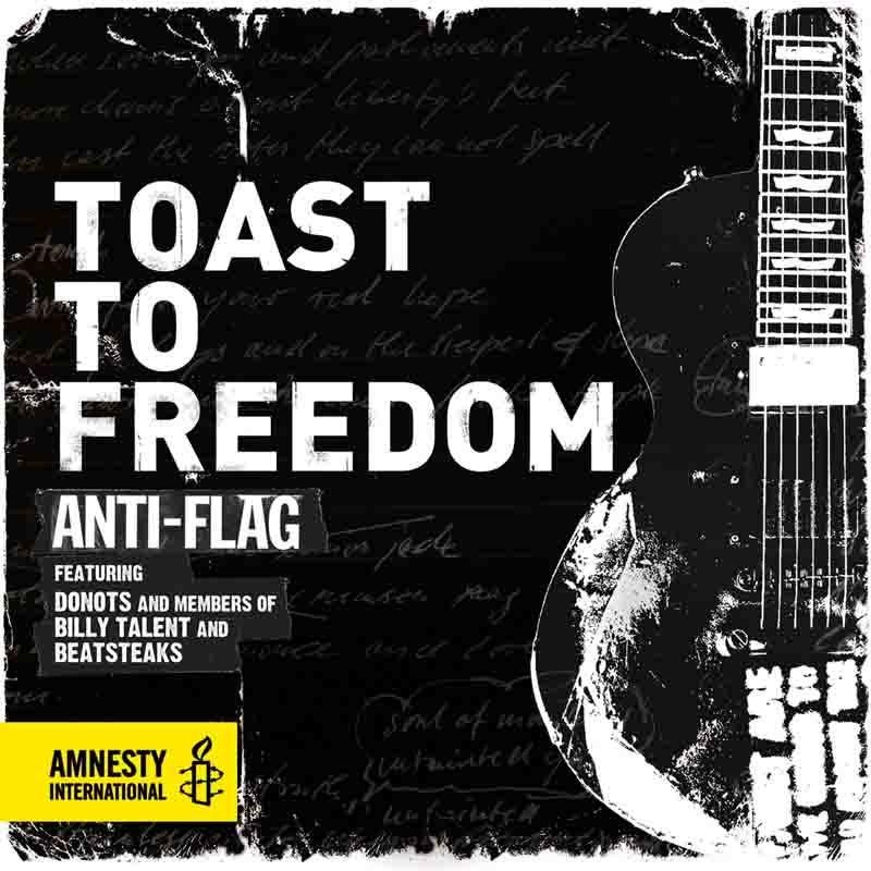 "ANTI-FLAG, DONOTS, BEATSTEAKS & BILLY TALENT: ""Toast To Freedom"""