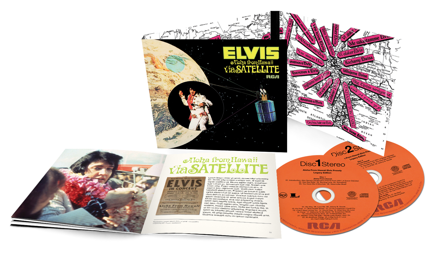 "Elvis Presley – ""Elvis - Aloha From Hawai Via Satellite"" (Legacy Edition)"""