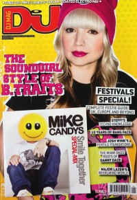 Mike Candys mixt DJ Mag UK Free CD