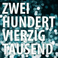 """Tiemo Hauer  – """"Zweihundertvierzigtausend"""""""