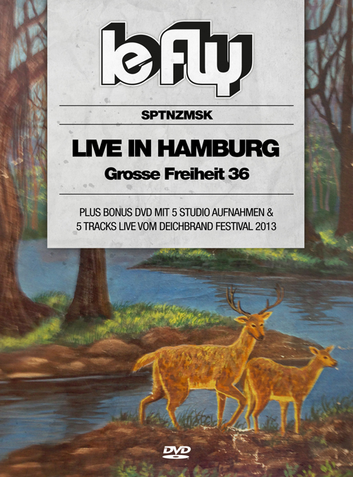 """LE FLY """"Live In Hamburg""""-DVD"""