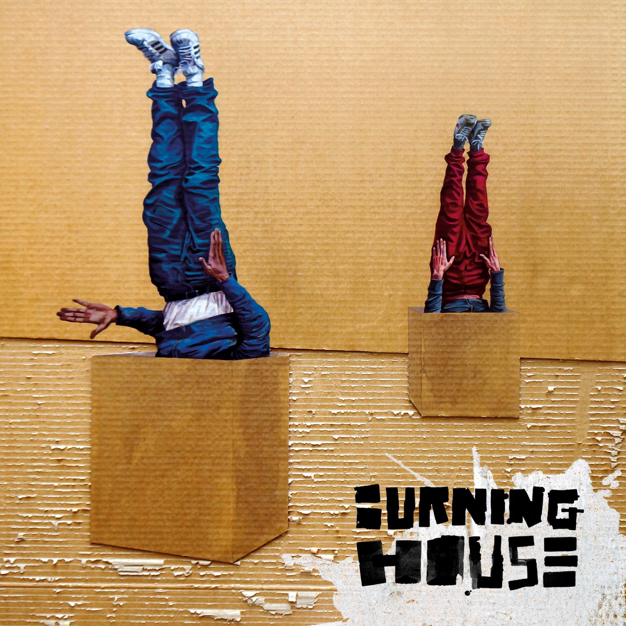 Burning House - Walking Into A Burning House