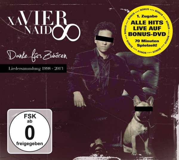 """Xavier Naidoo mit """"1. Zugabe"""" - """"Danke fürs Zuhören"""" jetzt auch mit DVD!"""