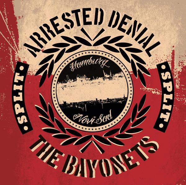 """Arrested Denial: Split-7"""" mit The Bayonets und neues Video!"""