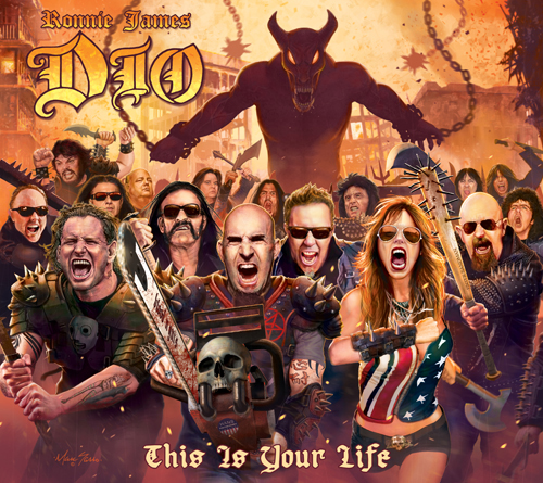 "Tribut an RONNIE JAMES DIO ""This Is Your Life"""