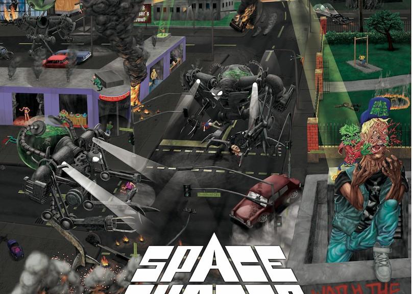 """SPACE CHASER - Debütalbum """"Watch The Skies"""""""