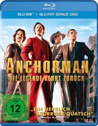 ANCHORMAN – DIE LEGENDE KEHRT ZURÜCK – Blu-ray © Paramount Pictures