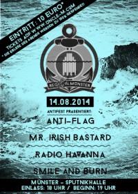 Anti-Flag & weitere für die Regen-Opfer in Münster