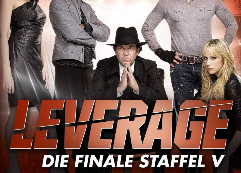 LEVERAGE – Die finale Staffel V – 4 DVDs