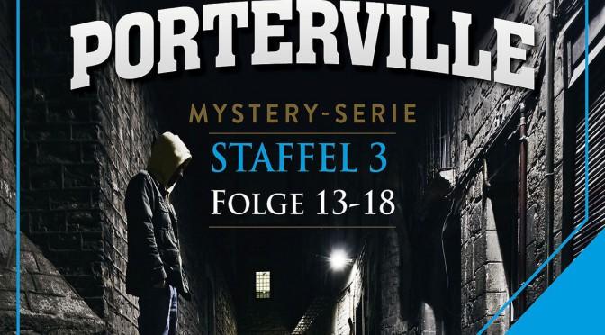 Mystery-Hörbuchserie Porterville - Fortsetzung der preisgekrönten Thriller-Hörbücher Darkside Park