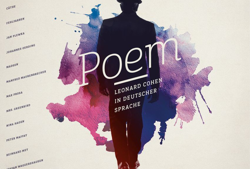 "Various Artists - ""Poem – Leonard Cohen In Deutscher Sprache"" (Columbia/Sony Music)"