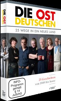 DIE OSTDEUTSCHEN - 25 Wege in ein neues Land (DVD-Box)