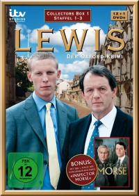 """Lewis - Der Oxford-Krimi  - Collector's Box 1"" (13 DVDs;  Edel:Motion)"