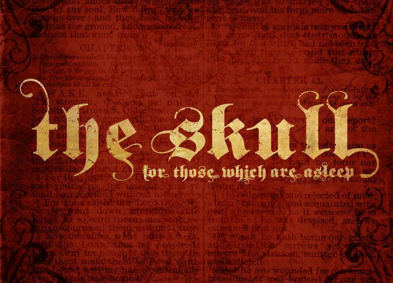 THE SKULL - For Those Wich Are Asleep
