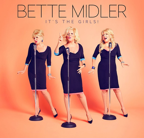 "BETTE MIDLER - ""It's The Girls!"" (EastWest Records/Warner)"