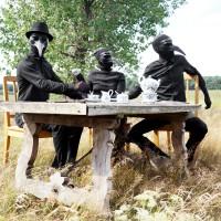 A BAND OF CRICKETS - INTER LARVAS (VÖ: 06.02.2014) elektronisch-akustisches Debütalbum lässt die Dunkelheit vibrieren