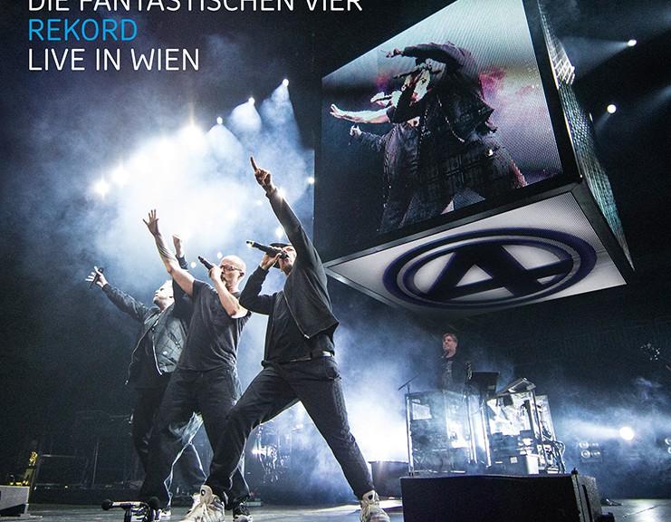 """Die Fantastischen Vier - """"Rekord - Live In Wien"""" (DVD – Columbia/Sony Music)"""