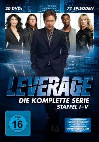 """LEVERAGE – Staffel I-V"" (20 DVDs - Edel:Motion)"
