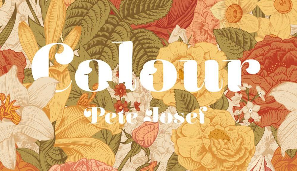 """Pete Josef - """"Colour"""" (Sonar Kollektiv/Indigo)"""