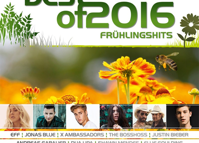"Various Artists - ""Best Of 2016 - Frühlingshits"" (Polystar/Universal)"