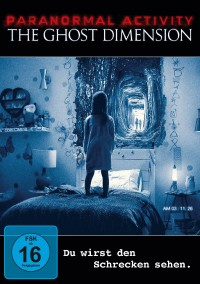 PARANORMAL ACTIVITY – GHOST DIMENSION - DVD  © Paramount