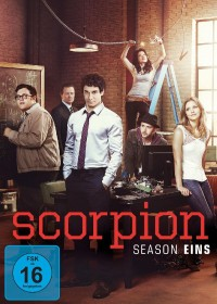SCORPION - Season 1 DVD © Paramount