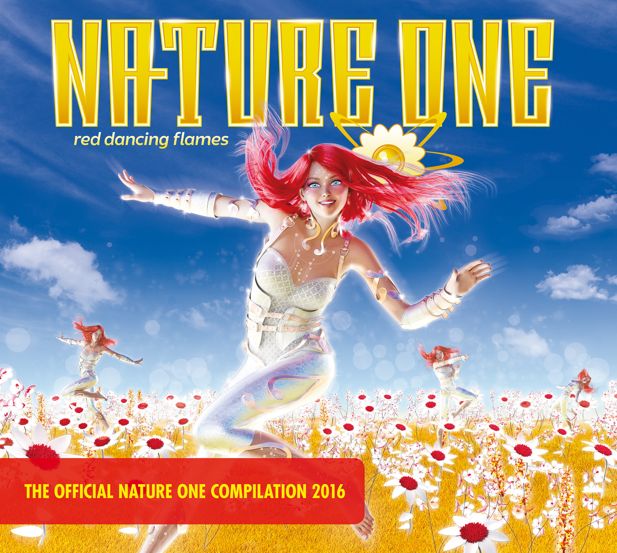 """Various Artists - """"Nature One 2016 – Red Dancing Flames"""" (Kontor ..."""
