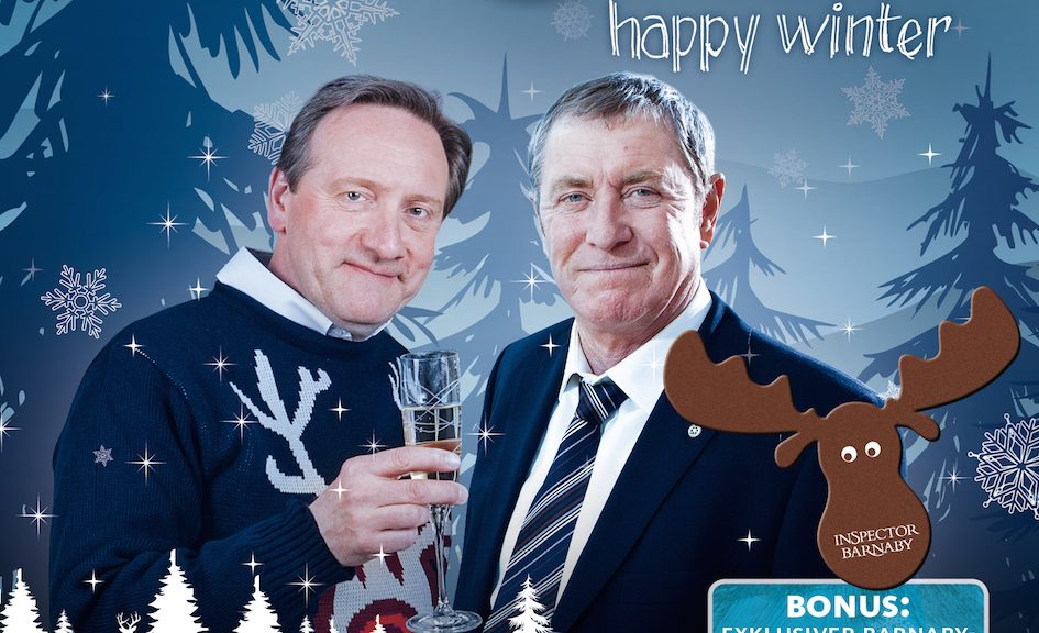 """Inspector Barnaby – Happy Winter"" (3 DVDs, Edel)"